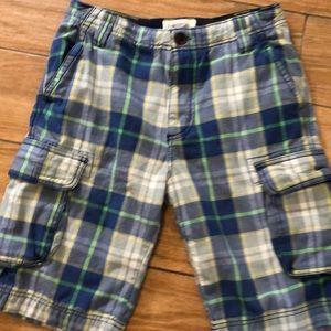 Johnnie B plaid shorts